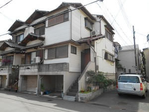 淀川区Y様 外壁塗装 施工前イメージ