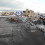 屋上の雨漏り修理の施工事例1 Before2