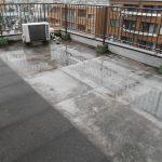 屋上の防水工事の施工事例2 Before2