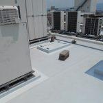 屋上の雨漏り修理の施工事例1After3