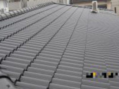 屋根塗装工事-大阪市西区 T様邸:施工事例81