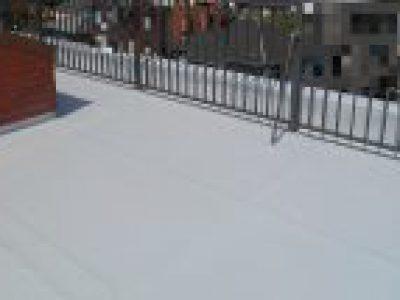 屋上シート防水工事-大阪府豊中市 Rビル:施工事例88