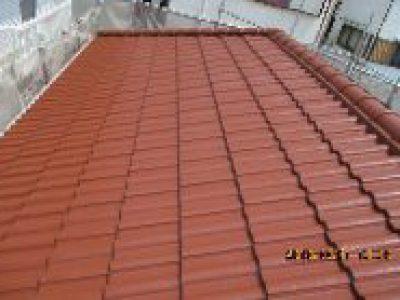 屋根塗装工事-大阪府大東市 K様邸②:施工事例93
