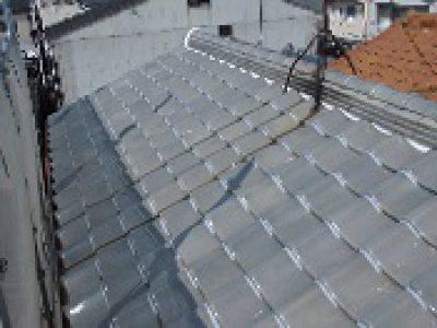 屋根補修・漆喰工事-大阪市東成区 H様邸①:施工事例96