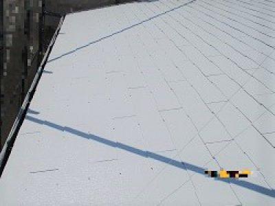 屋根塗装工事-大阪市淀川区 H様邸②:施工事例123