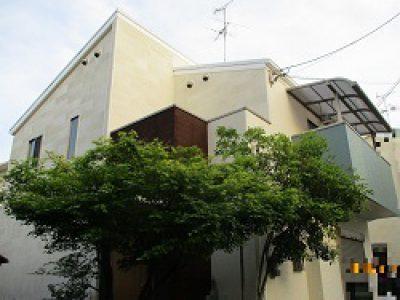 外壁塗装工事-大阪市淀川区 H様邸①:施工事例122