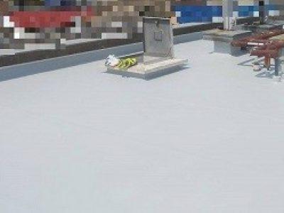 屋上防水工事-大阪市東淀川区 Aマンション:施工事例137
